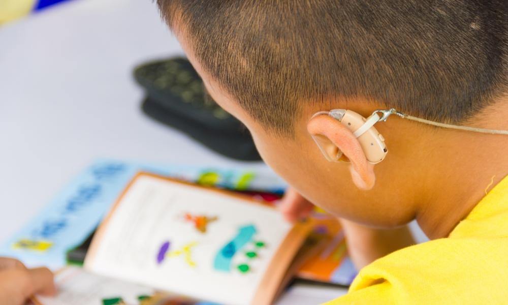 deaf education articles